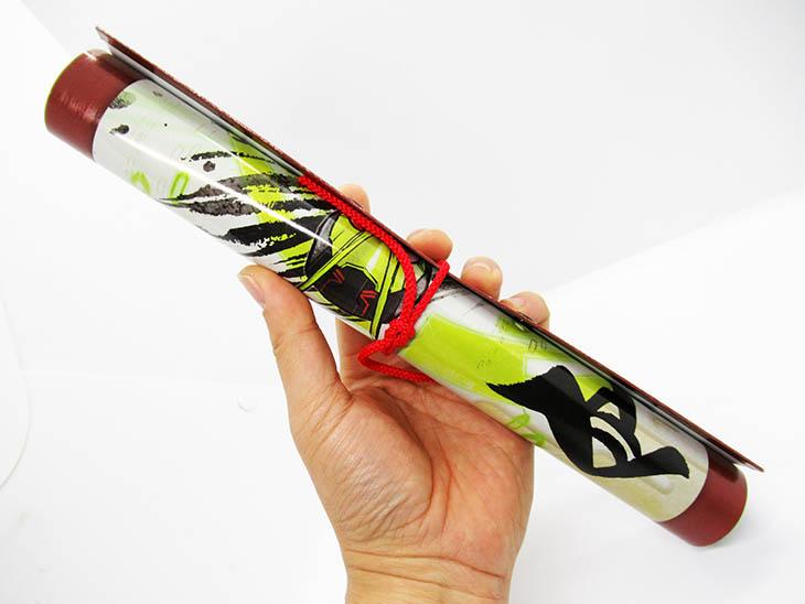 仮面ライダーゼロワン 掛け軸ART ゼロワン饅頭セット|おもちゃライダー