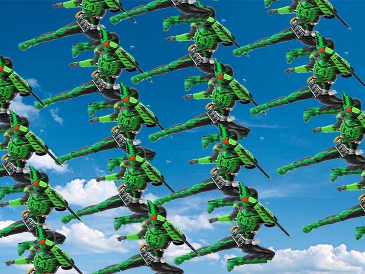 S.H.フィギュアーツ(真骨彫製法) 仮面ライダーオーズ ガタキリバ コンボ おもちゃライダー