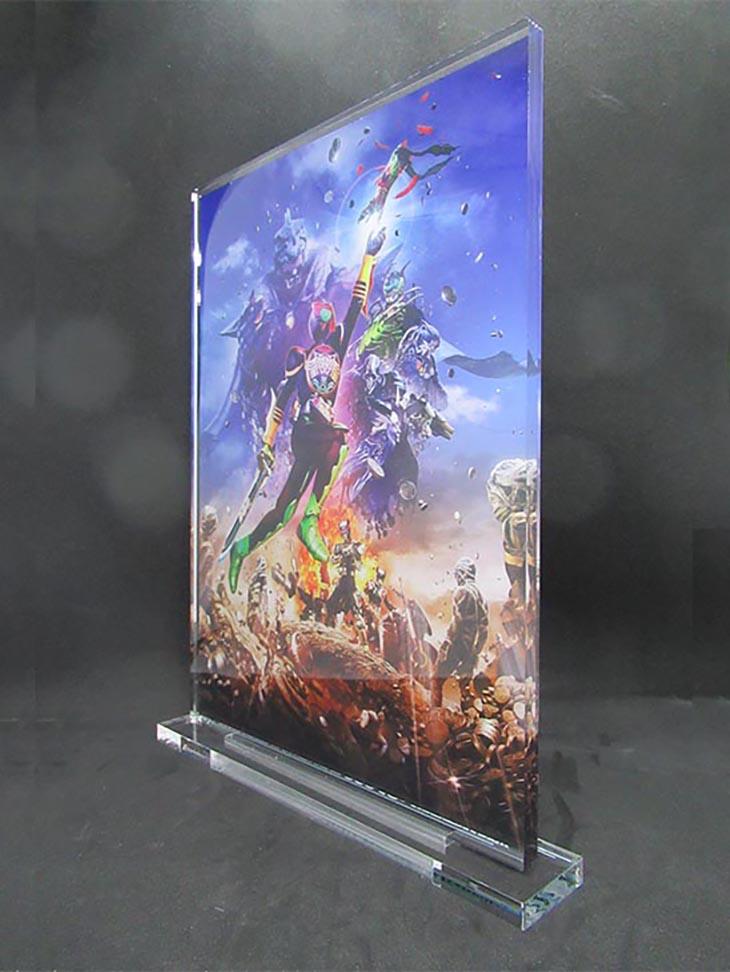 東映ヒーローネット限定・仮面ライダーオーズ 10周年記念アクリルアートスタンド|おもちゃライダー