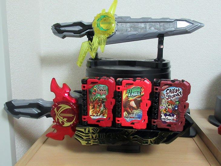 ウェポンディスプレイ台座 おもちゃライダー