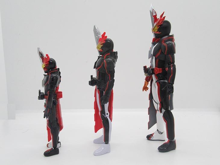 【比較】装動・RKF・S.H.フィギュアーツでプロポーションを比較!ゴン おもちゃライダー